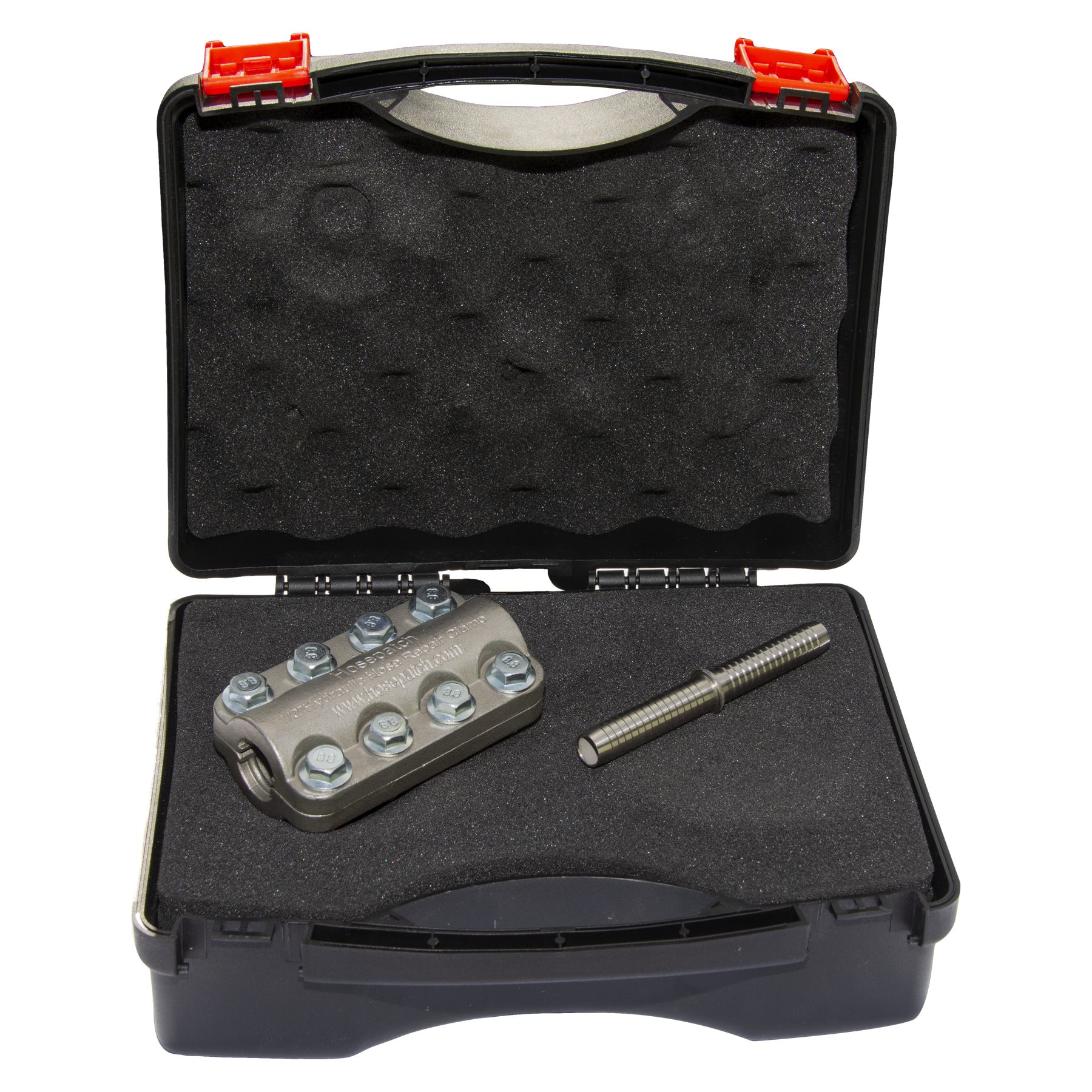 Hosepatch Half Inch Hydraulic Repair Clamp Kit